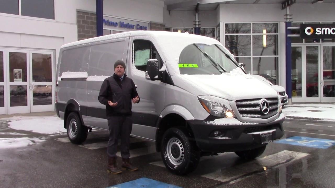 2016 Sprinter Cargo Van 4x4 Anthony Youtube