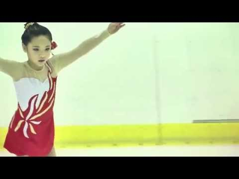 104全國盃花式滑冰錦標賽~黃淵儀 Coach-David Chang 張偉梓