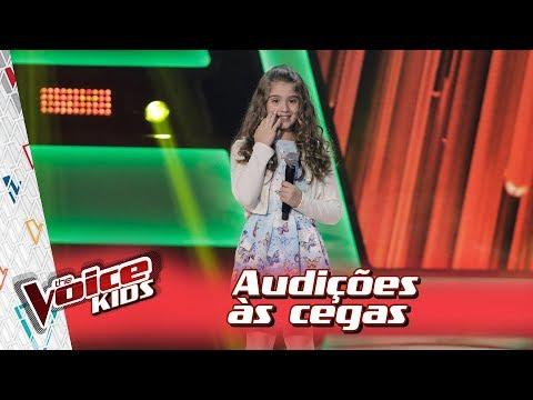 Giovanna Alvarenga canta 'Flor do Reggae' na Audição – 'The Voice Kids Brasil' | 3ª Temporada