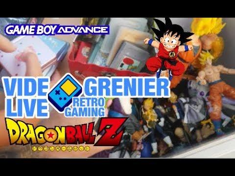 VIDE GRENIER LIVE RETROGAMING - DE LA GAMEBOY ET DES FIGURINES DBZ !