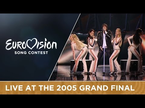 Martin Stenmarck - Las Vegas (Sweden) Live - Eurovision Song Contest 2005