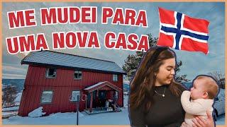 TOUR PELA MINHA CASA - PORÃO NA NORUEGA | Nicole Trindade