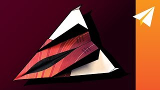 How to Make a Paper Jet with Fins — Firestrike