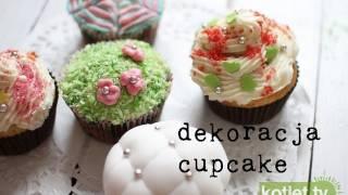 Jak dekorować cupcake, babeczki, muffin...