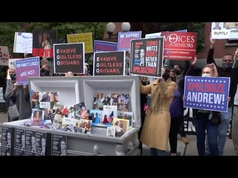 USA: 'We want an apology' - NYC protesters stage mock funeral outraged by COVID handling