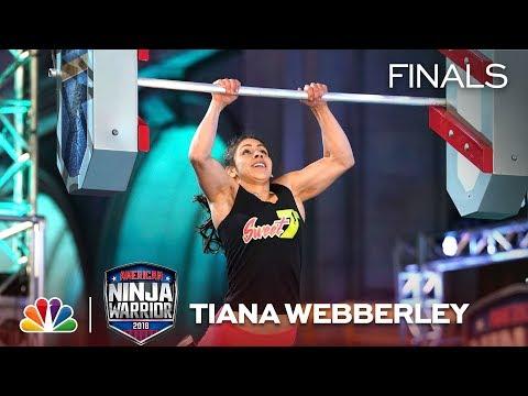 Tiana Webberley at the Los Angeles City Finals - American Ninja Warrior 2018