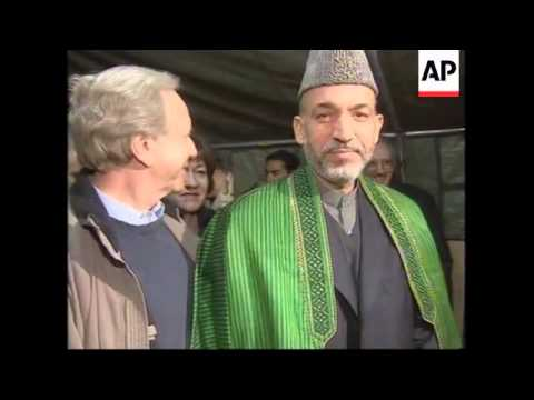 WRAP Senior US politicians meeting Karzai, brief the press