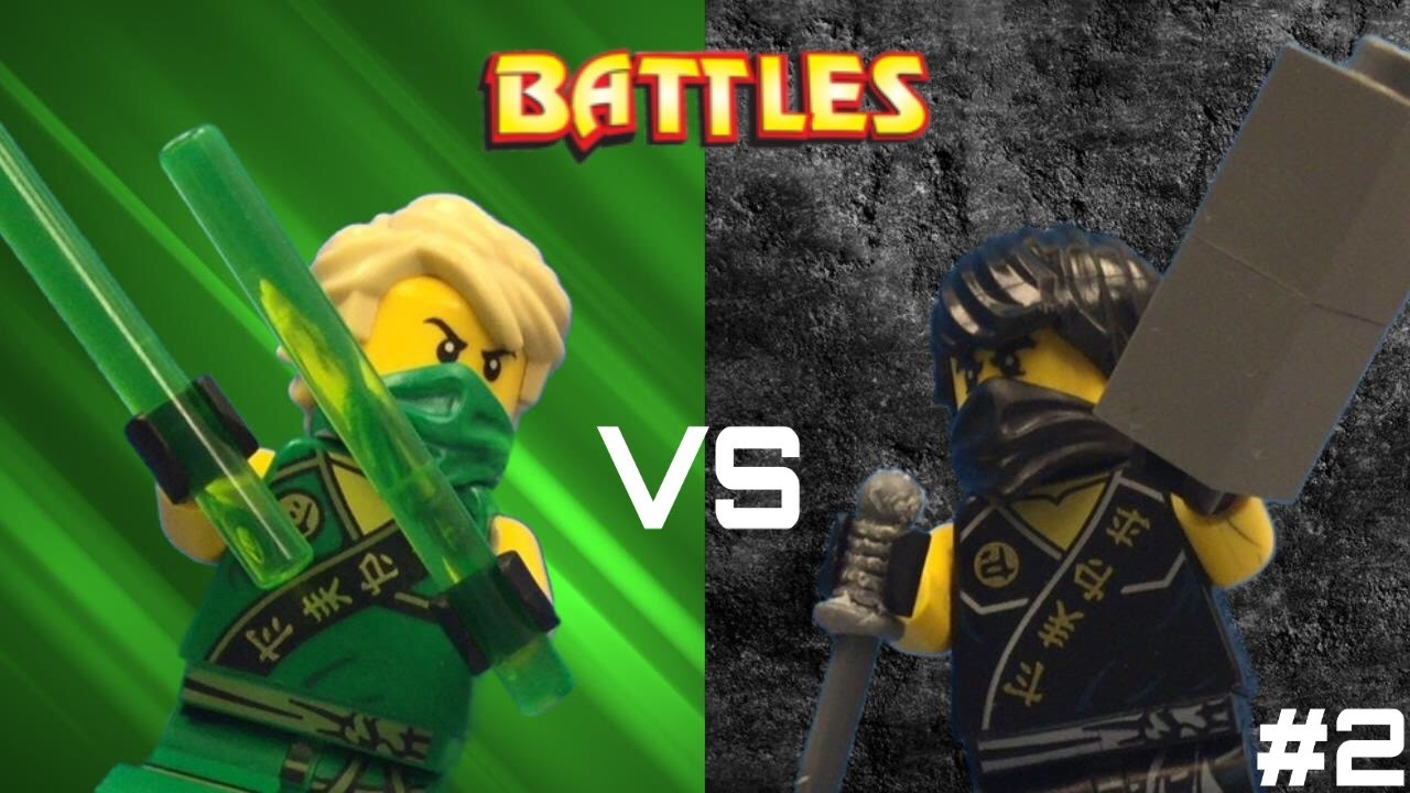lego ninjago cole vs lloyd tournament youtube