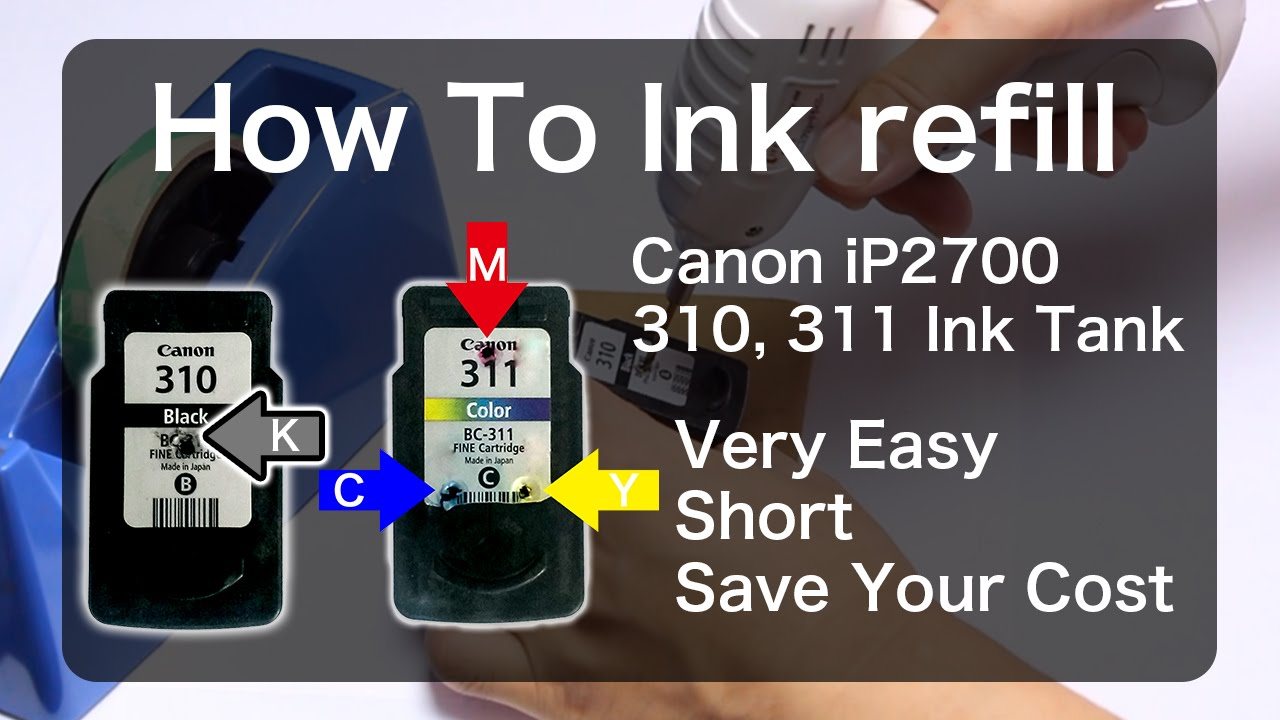How to refill a Canon cartridge: instructions and tips