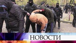 На Украине проходят протесты против повышения цен на газ, отопление и горячую воду.