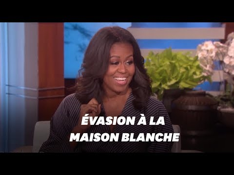 Michelle Obama raconte le soir où elle s'est échappée de la Maison Blanche