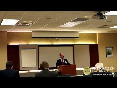 Business Tax Seminar    St Paul Minnesota International Tax Lawyer