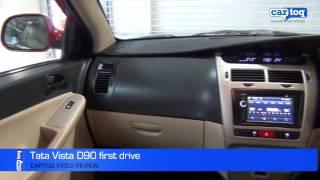 Tata Vista D90 Diesel cartoq first drive video by CarToq.com