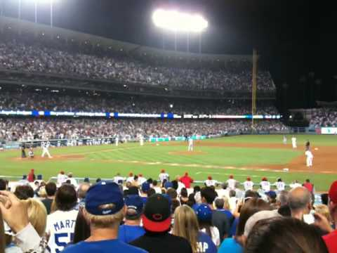 Manny Ramirez Grand Slam vs. Reds 7/22/09 @ Dodgers Stadium