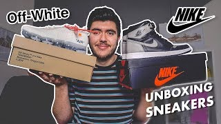 UNBOXING SNEAKERS | Vapormax Off White & Jordan 1 Shadow !