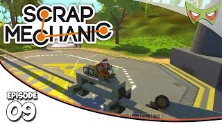 Scrap Mechanic Gameplay - Ep. 09 - Monorail System! - Lets Play