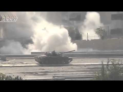 The Syrian Arab Army in action!!