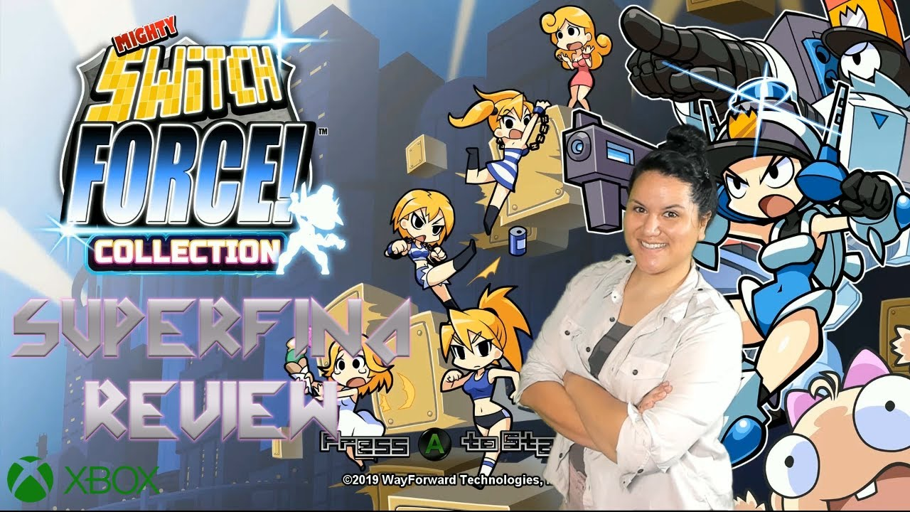 Mighty Switch Force! Collection Game Review