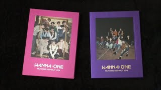 Video [Unboxing & Reacting] Wanna One - 1-1=0 Nothing Without You (Purple & Wine ver) ⭐️ Prequel Repackage download MP3, 3GP, MP4, WEBM, AVI, FLV Desember 2017