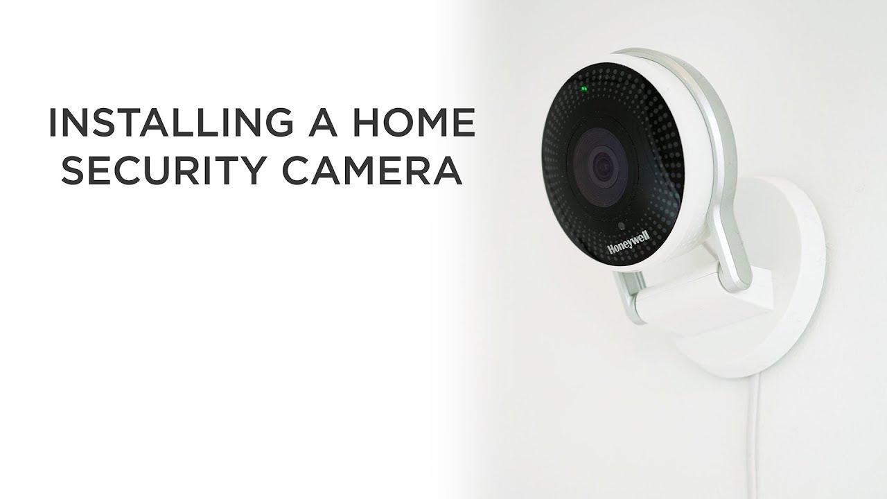 Installing a Home Security Camera | Honeywell Lyric C2 wifi camera