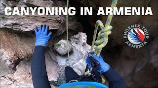 Canyoning In Armenia | HD GoPro