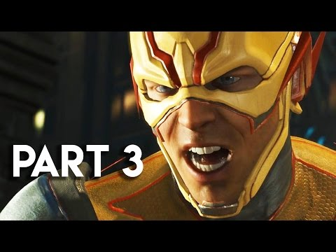 Injustice 2 Gameplay Walkthrough Part 3 - STORY MODE CHAPTER 4 (PS4 PRO)