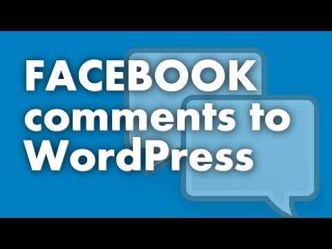 Add Facebook Comments To WordPress In Under 2 Minutes
