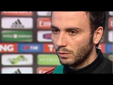 Pazzini: 'Ci aspetta una partita difficile'