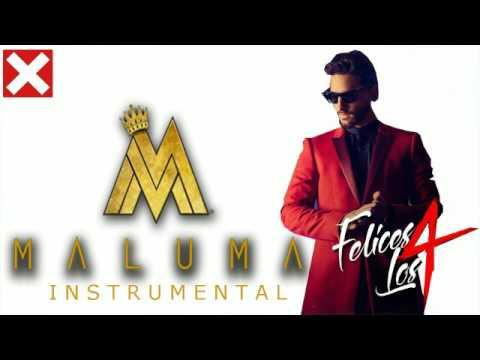 Felices los 4 Instrumental Maluma