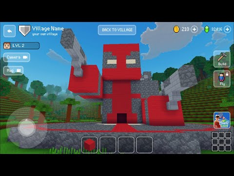 Block Craft 3D: Building Simulator Games For Free Gameplay#857 (iOS & Android)   Deadpool House 🏠