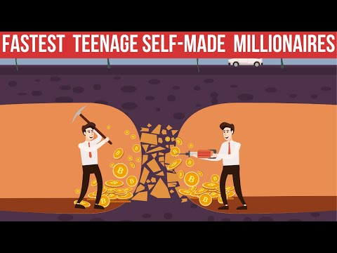 Fastest Way Teenagers Became Millionaires