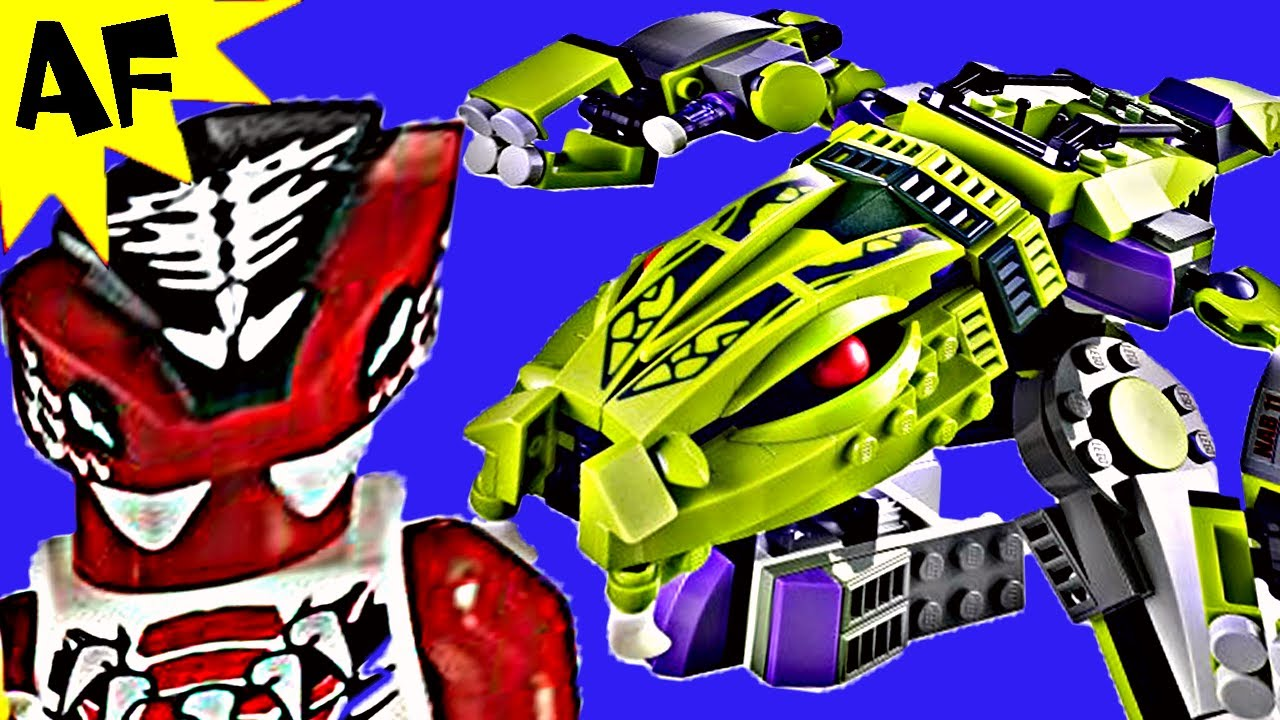 FANGPYRE MECH 9455 Lego Ninjago Stop Motion Set Review