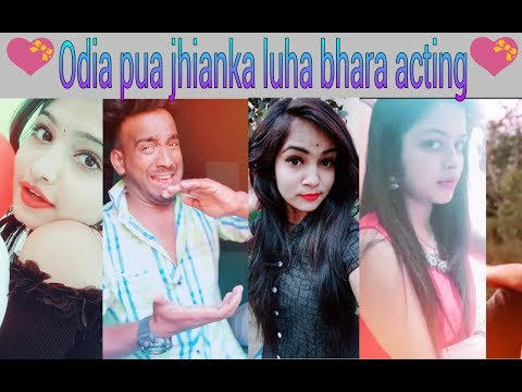 Super Acting Odia Girls And Boys In Tiktok Ll Hrudaya Bhanga Acting Ll