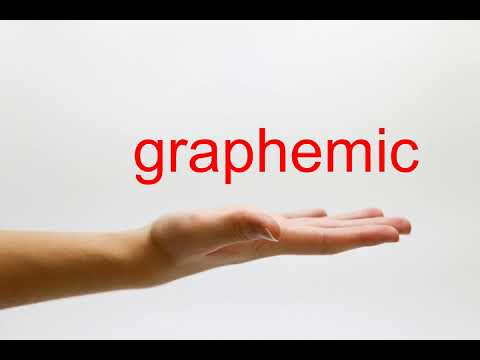 How to Pronounce graphemic - American English