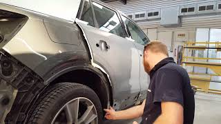 Car Repair: cleaning and masking