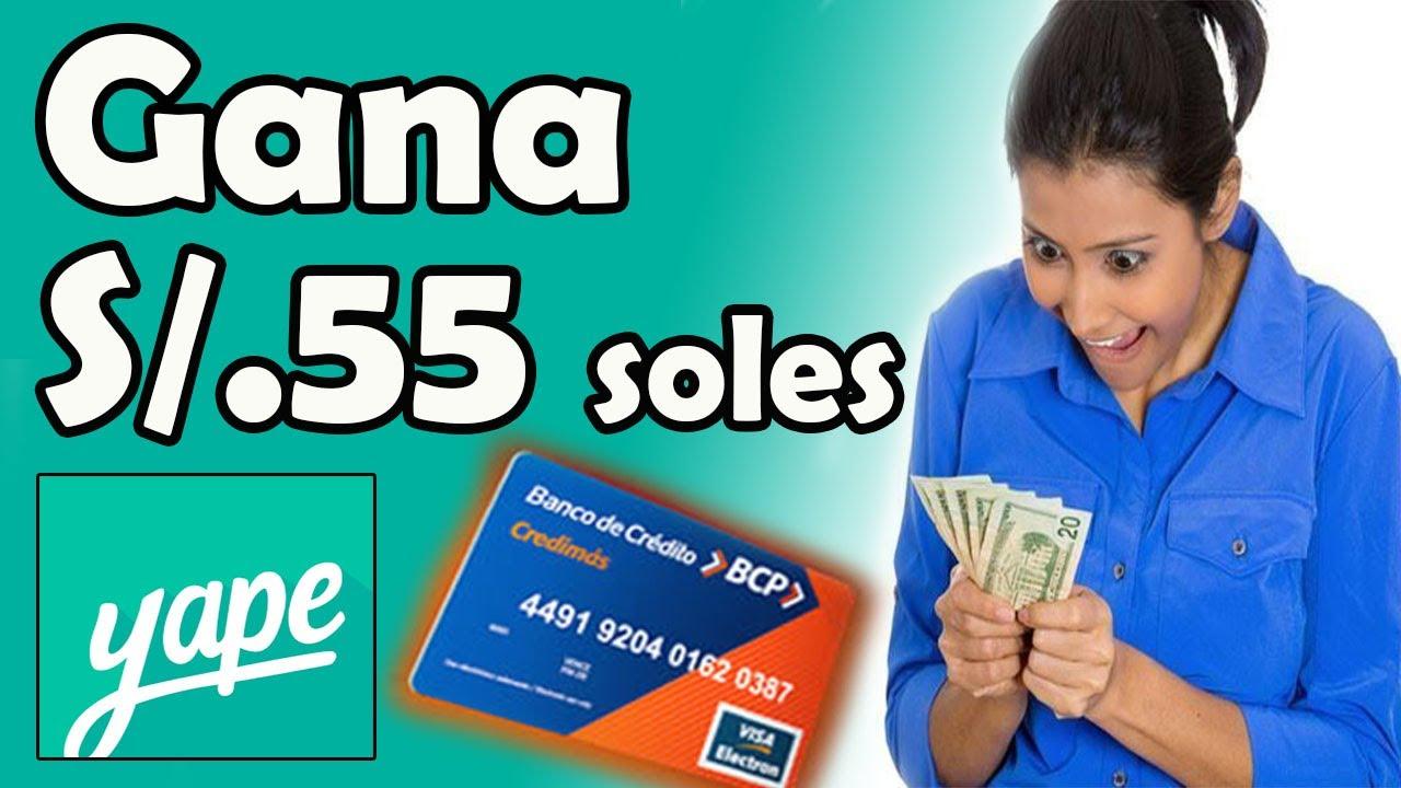 Gana Dinero Con Yape Gana Dinero Con Bcp Y Yape Promocion Yape Para Perú Youtube