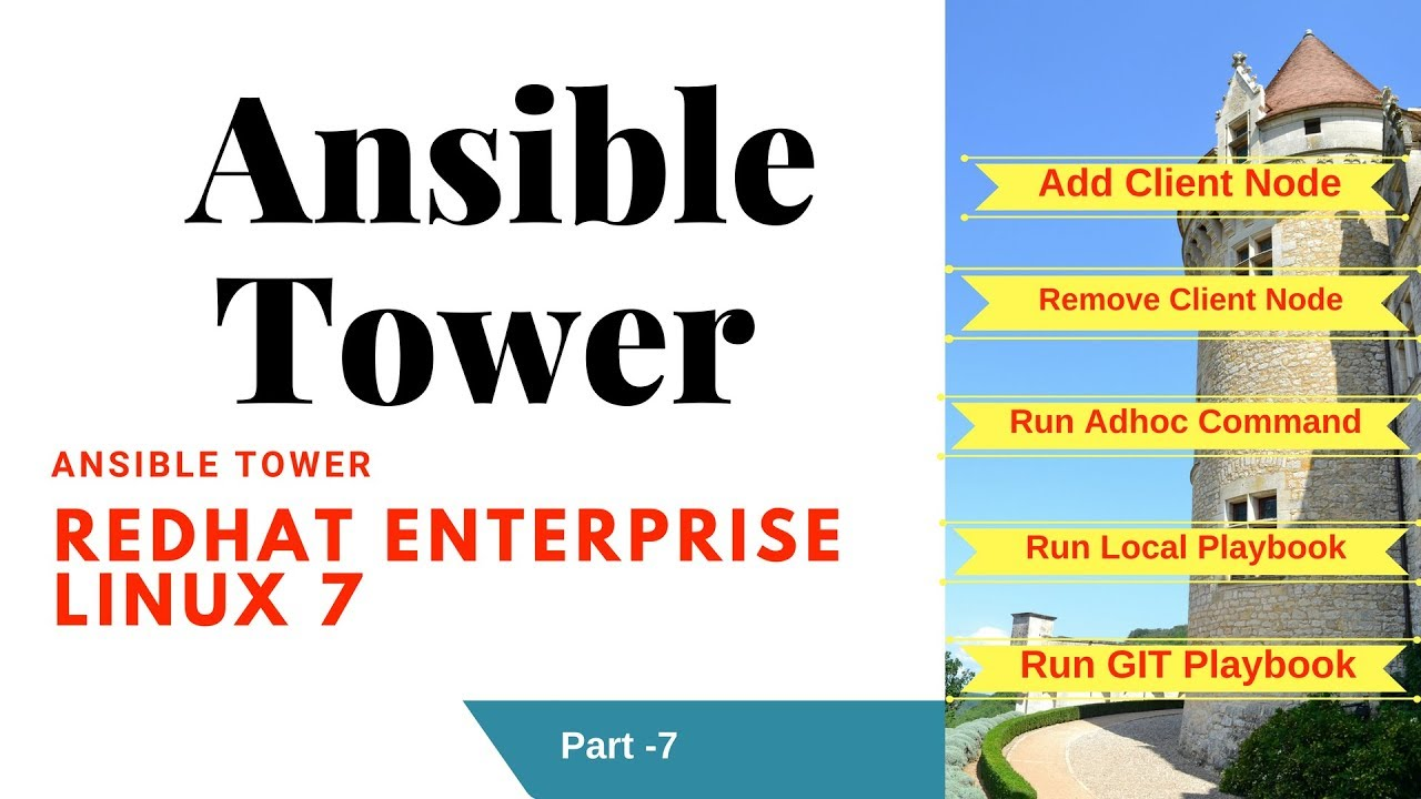 How to run PLAYBOOK and ADHOC command from Ansible TOWER |RHEL7 |Part-7