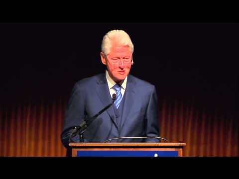 Civil Rights Summit: President Bill Clinton