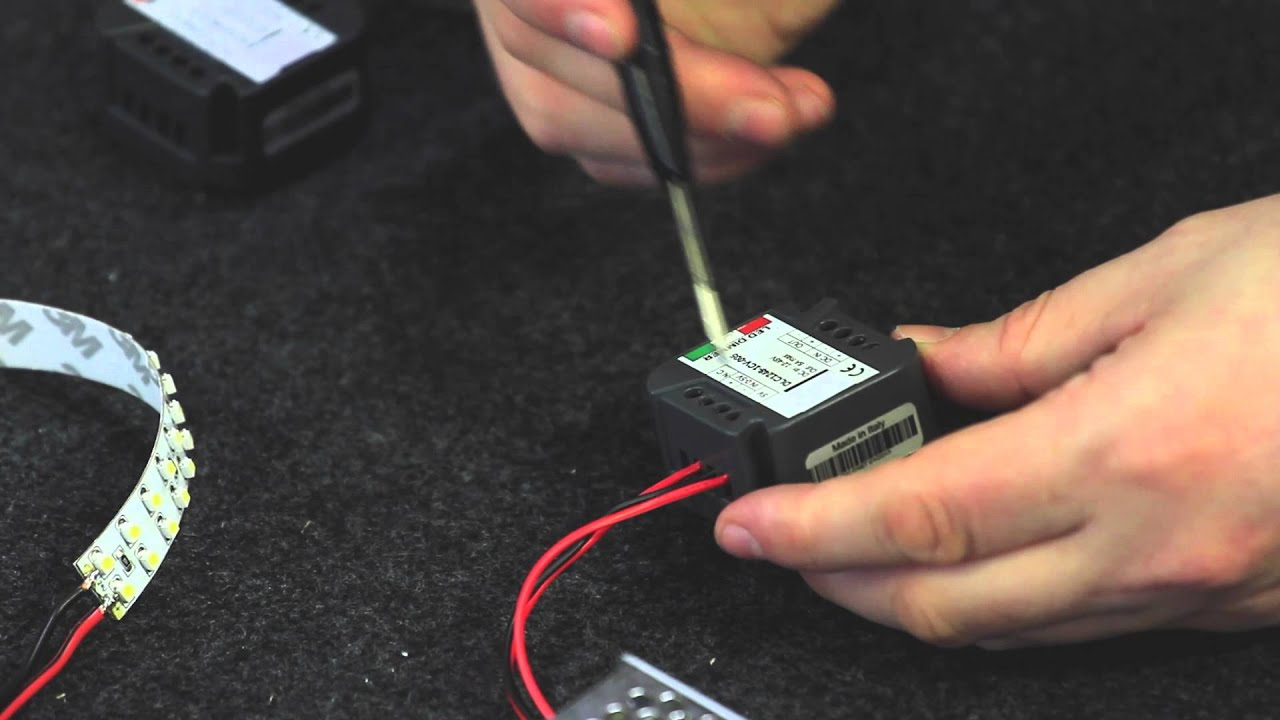 Schema Elettrico Dimmer Per Led : Come collegare un dimmer led con potenziometro e booster