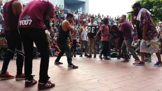 Bboy City 10 Mexico - Mty 2015 | Majestic Vs Funky Style
