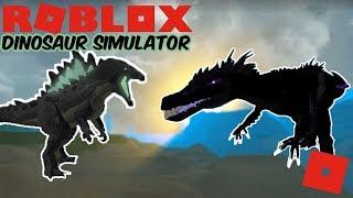 Roblox Dinosaur Simulator - PITCH ANIMATIONS + GODZILLA ROARS! (1-2 Days Left Til Black Friday!)