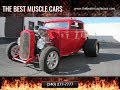 1932 Ford BLOWN Street Rod FOR SALE @ Eric's Muscle Cars