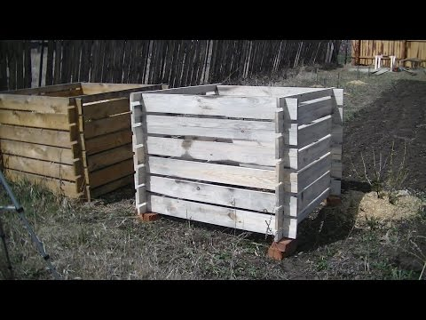 Ящик для компоста своими руками. Сад и огород.