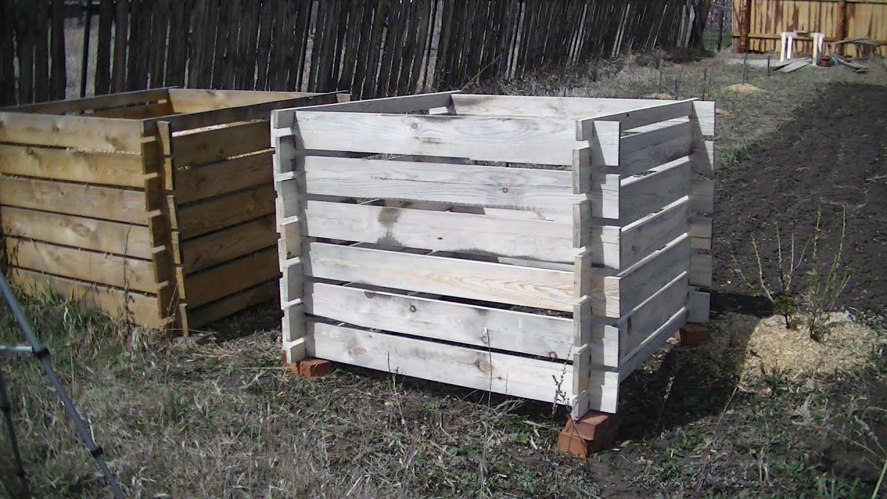 Ящик для компоста из поддонов своими руками фото 748