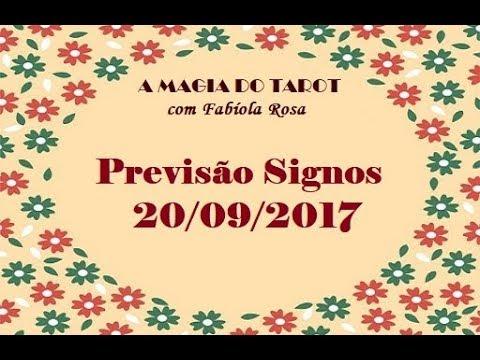 Baixar Previsão para todos os Signos 20/09/2017 | A MAGIA DO TAROT com Fabíola Rosa