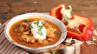 Chicken Fajita Soup Recipe | Episode 1195