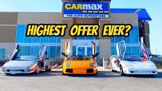 homepage tile video photo for I Took My Lamborghini Collection To Carmax For An Appraisal