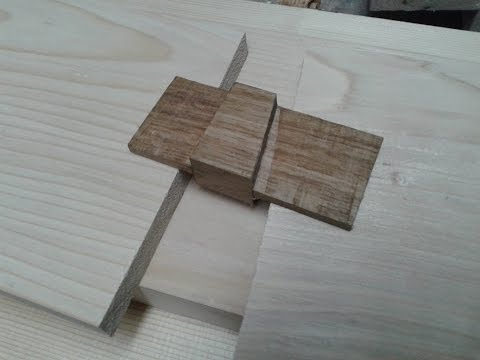 photograph regarding Printable Dovetail Template called How in direction of create a dovetail template - YouTube