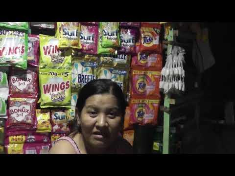 Janice's Sari-Sari Shop, Tambiz,Goldmining village! My Filipino Family!