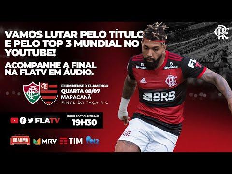 Fluminense x Flamengo - Final Taça Rio (Ao Vivo)